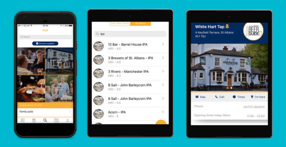 New CAMRA Beer App Guides People in the UK to Perfect Pints
