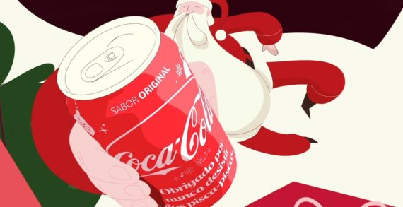 Coca-Cola Brazil Gives Thanks with Charming Animated Christmas Cards via JWT São Paulo