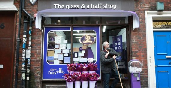 Cadbury Launches One-of-a-Kind Purple Newsagents in London