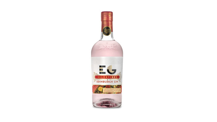 Edinburgh Gin Unveils New Look for Valentine's Limited-Edition