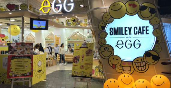 SmileyWorld Launches Pop Up Café Concept in Hong Kong