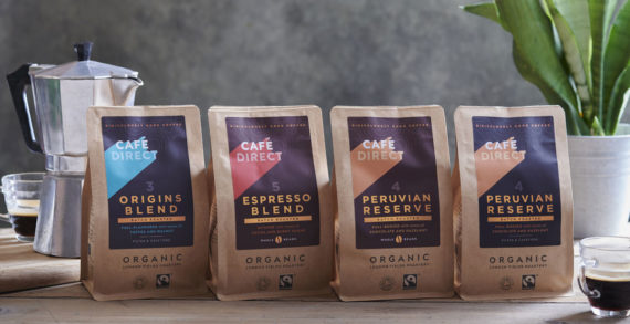 Cafédirect Re-Launches its 100% Organic and Ethical Range