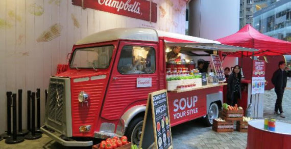 Campbell's Soup Targets Hong Kong Market with Soup Truck