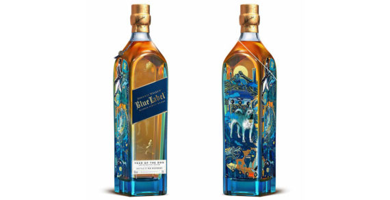 Johnnie Walker Celebrates the Chinese New Year with Limited Edition Year of the Dog Blue Label Bottle