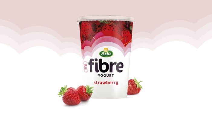 Springetts Bring 'Good Fibrations' to Arla Fibre with New Packaging Design