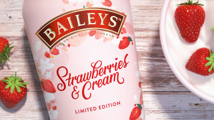 Baileys Launches Limited Edition Strawberries & Cream with Design by Vault49