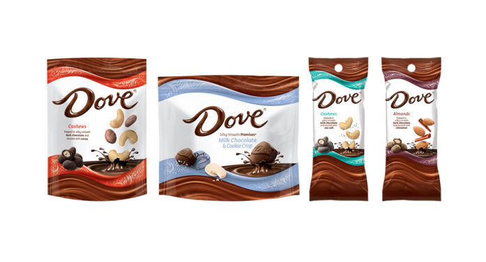DOVE Chocolate Introduces New Product Lineup For 2018