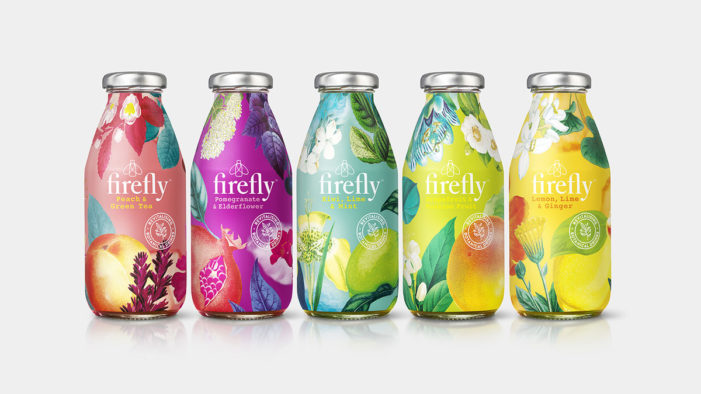 B&B Studio Draws on Limited Edition Superfly Bottles in Botanical-Led Rebrand for Firefly Core Range