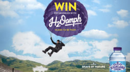 Space adds 'H2Oomph' to Highland Spring Brave by Nature push
