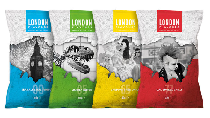 Pure Provides Branding For New London Centric Crisp Brand