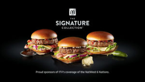 McDonald's Sponsor ITV's Coverage of the NatWest Six Nations