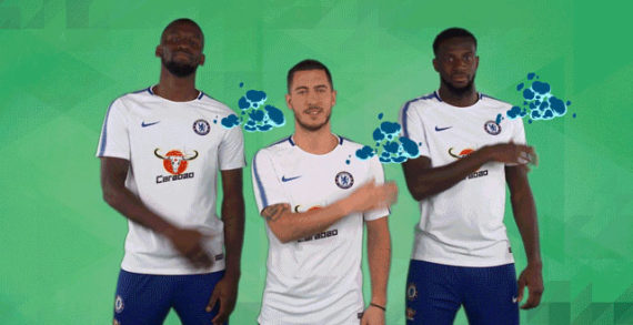 W Launches Chelsea FC GIFs  Collection For Carabao Energy Drink
