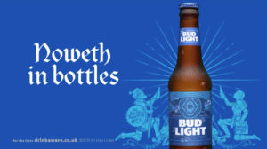 d669f60a349c7 Bud Light Brings  Dilly Dilly!  Phenomenon to the UK – FAB News