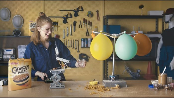 Kellogg's Uses Robots to Create 'Amazing Creations' in New Campaign by JWT Sydney