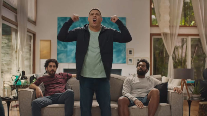 "Has Ronaldo Turned Argentinian? ""Fenomeno"" Stars in New Snickers Global Campaign"