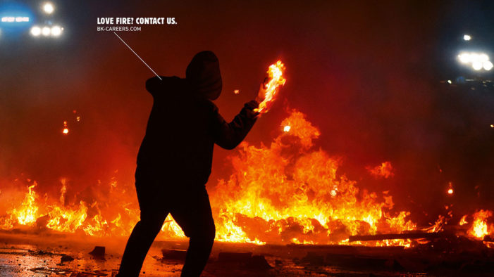 Burger King is Looking to Hire Pyromaniacs in New Campaign by Grabarz & Partner