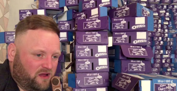 Cadbury Dairy Milk Oreo Teams up with YouTube Star Arron Crascall to Give Out 50,000 Bars