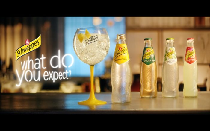"""Schweppes Releases New Brand Film """"What Do You Expect?"""" by BETC Paris"""