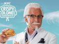 KFC Pairs New Crispy Colonel Sandwich with George Hamilton to Launch Latest Menu Item