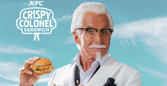 KFC Pairs New Crispy Colonel Sandwich with George Hamilton to Launch Latest Menu Item