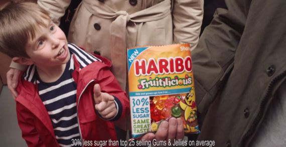 Haribo Promote Their Reduced Sugar Recipe in New Ad by Quiet Storm