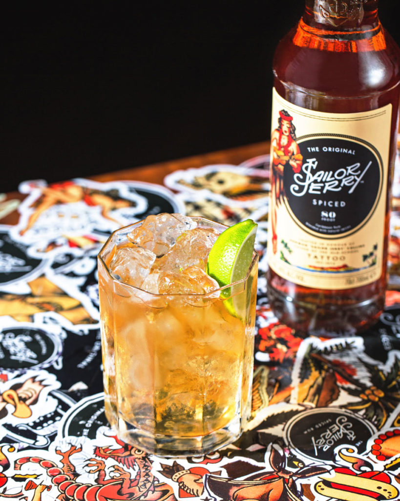 sailor jerry spiced rum unveils redesigned bottle honouring tattoo