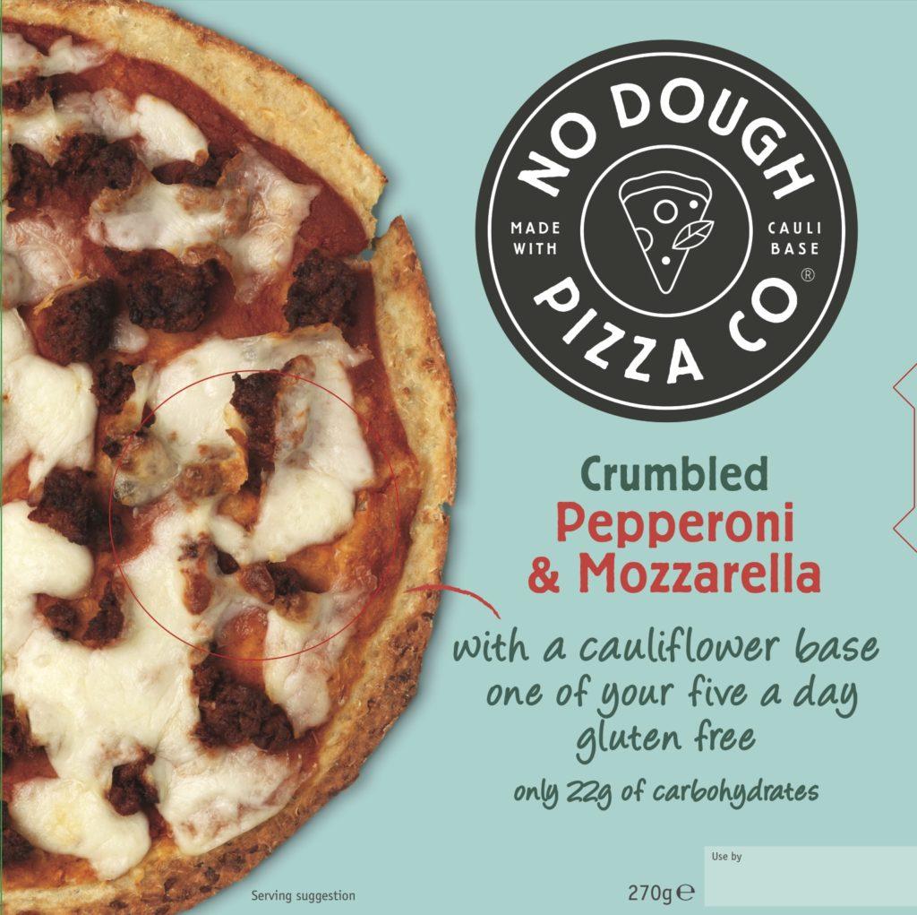 Cauliflower Based Pizza Brand No Dough Pizza Co Launches In