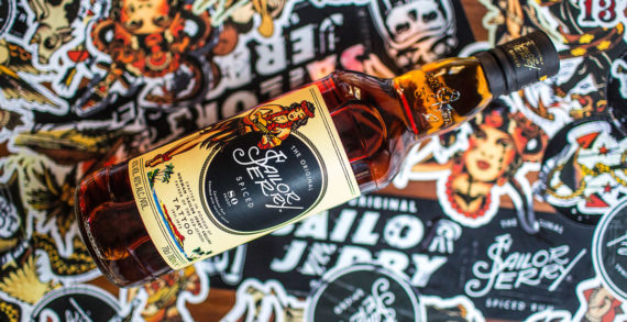 "Sailor Jerry Spiced Rum Unveils Redesigned Bottle Honouring Tattoo Legend Norman ""Sailor Jerry"" Collins"