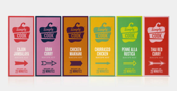 Simply Cook Debuts in Retail with a Vibrant New Brand Expression Created by B&B Studio and Path