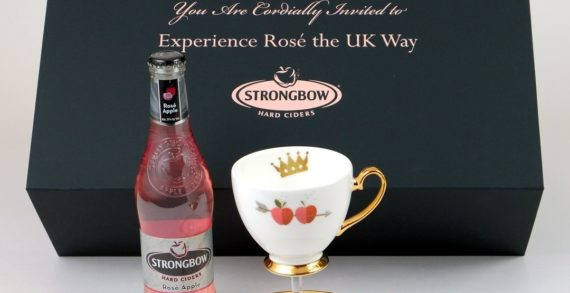 Strongbow Hard Ciders Invites America to Drink Rosé the UK Way