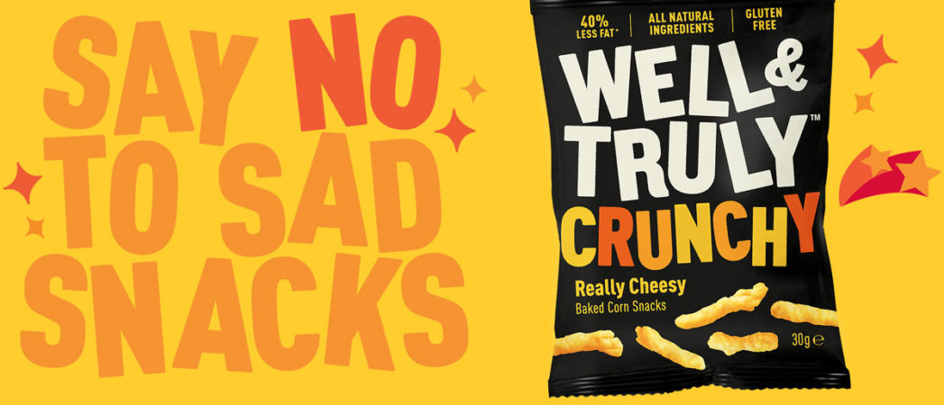 B&B Studio Challenges Both Mainstream and Healthy Snacking Categories in Well&Truly Rebrand