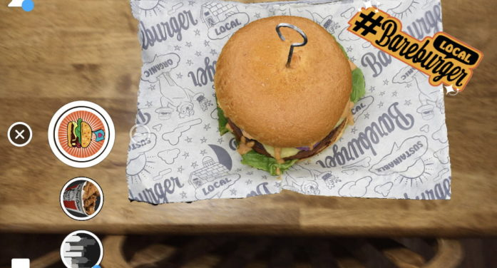 Bareburger's AR Menu Lets Customers Scan a Snapcode and See Any Dish Before Ordering