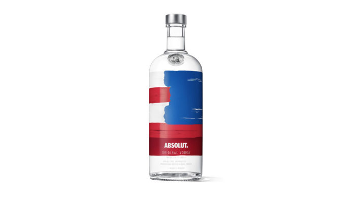 Absolut Goes Red, White & Blue to Celebrate the Summer with New Limited Edition Absolut America Bottle