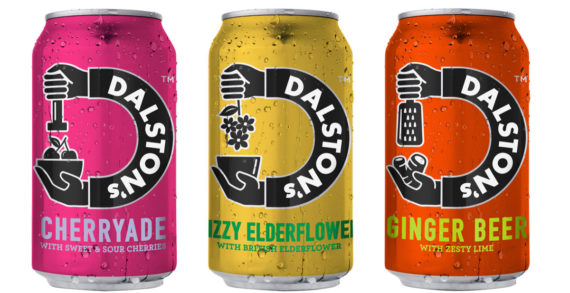 Dalston's Unveils a Bold New Look and Launches Three 'Punchy' Flavours