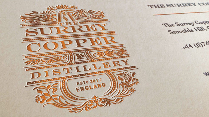 Nude Brand Creation Unveils Identity For The Surrey Copper Distillery