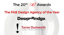 Turner Duckworth & Design Bridge Named Joint Winners of The FAB Design Agency of the Year Award