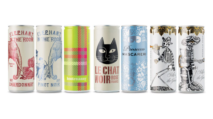 Fourth Wave Wine Launches Canned Wine Ranges with Strategy and Design by Denomination