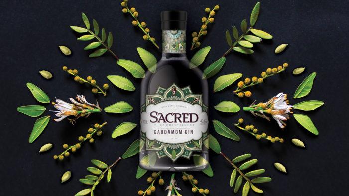 Hart & Jones Invoke Mysteries of the Orient in New Design for Sacred's Cardamom Gin