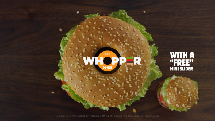 Burger King is Releasing 'Whopper Donuts' for National Doughnut Day