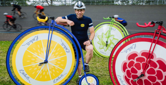 R.White's Attempts World Record on a Penny Farthing as Part of its Summer Marketing Push