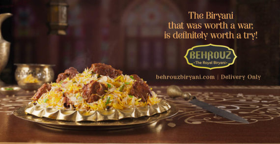 New Behrouz Biryani Campaign by BBH India Causes Serious Food Cravings