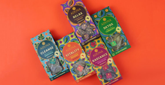 Superfood Brand Aduna Releases New Super-Teas Range with Design from Carter Wong