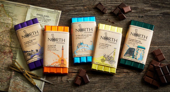 DECIDE Brands New Range of Artisan Chocolate Bars for Leading Local Brand North Chocolates