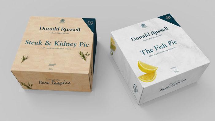 Conran Design Group Designs New Visual Identity for Scotland's Finest Butcher Donald Russell