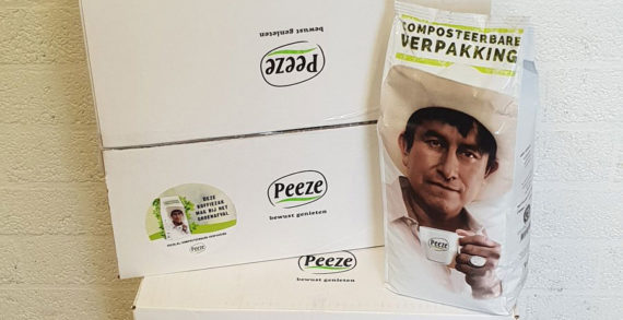TIPA Helps Develop Peeze's New Coffee Bean Packaging