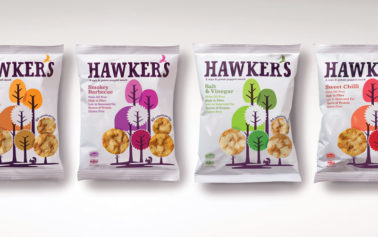 Mayday London Unveils New Branding For DDC Foods' Hawkers Brand