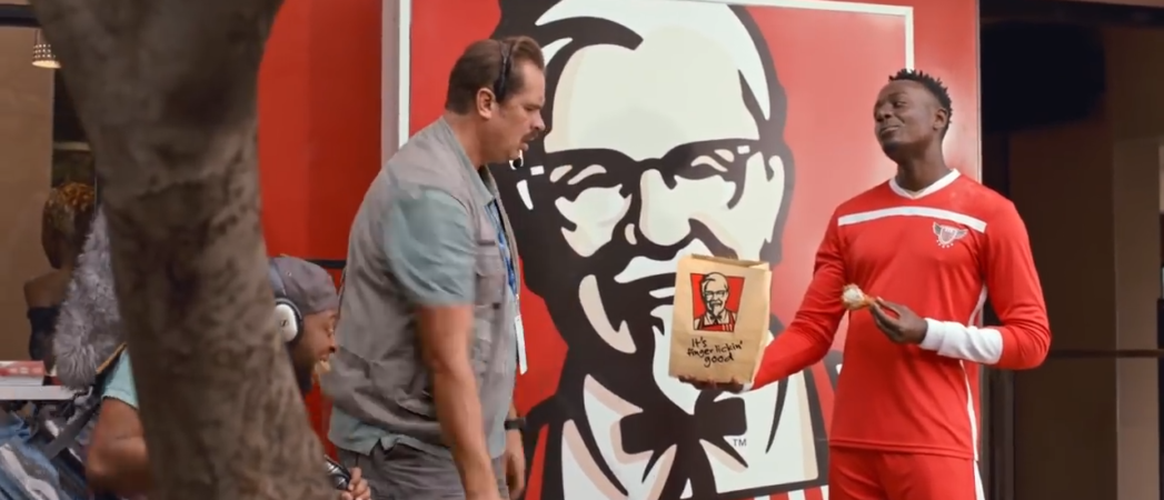 KFC Makes a Meal Out of their New TV Ad by  Ogilvy Cape Town