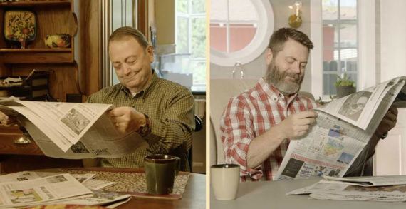 Nick and Ric Offerman Celebrate Father's Day Uniformly with Lagavulin Single Malt Scotch Whisky