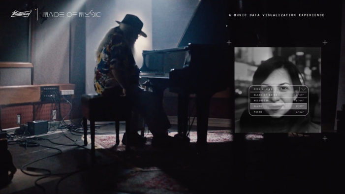 Budweiser's Interactive Experience Celebrates Musician Hermeto Pascoal