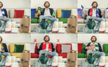 Italy's Andrea Pirlo Teams up with McDelivery to Pick a Team for the World Cup